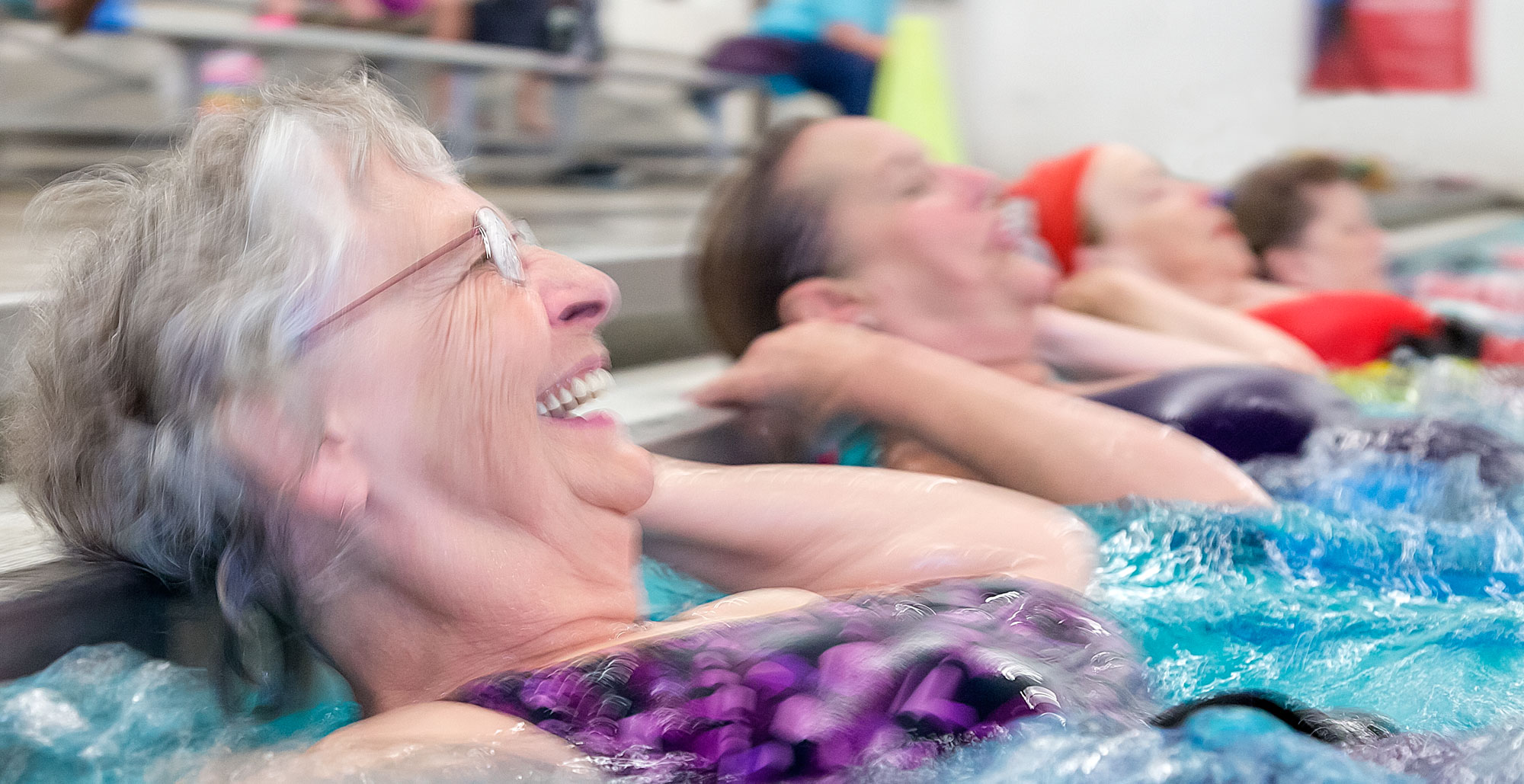 IMAGE: Seniors in Swimming Pool