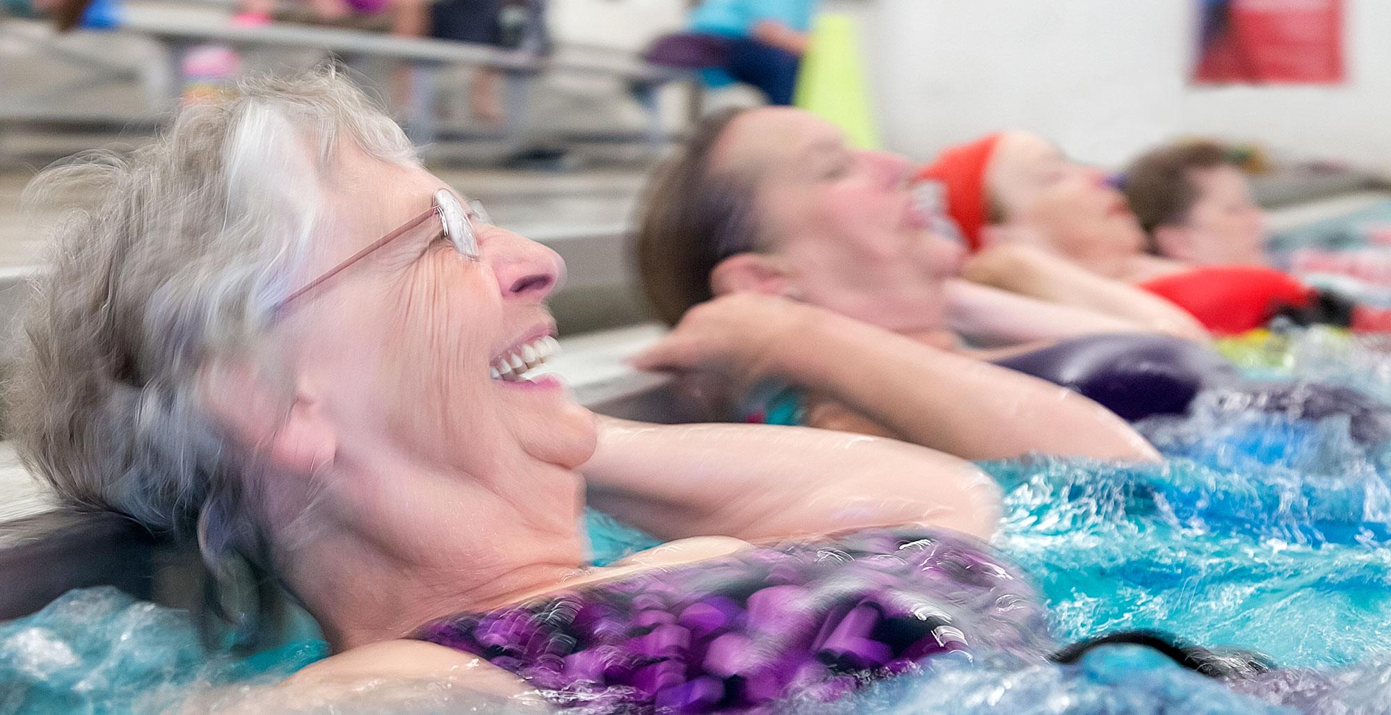IMAGE: Seniors in Swimming Pool