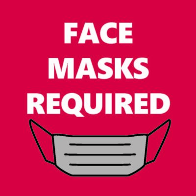 Image of Face Masks Required sign